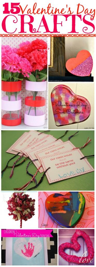 15 Easy Peasy Valentine Crafts For Kids