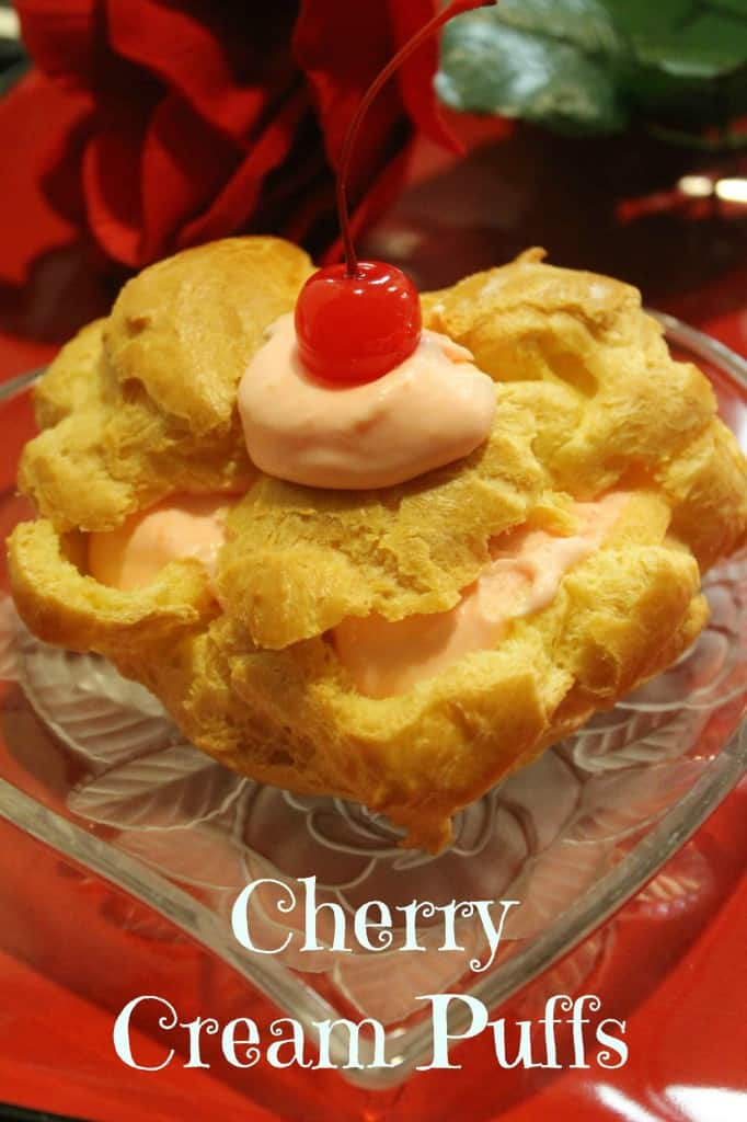 Beyond Sweet Cherry Cream Puff Valentines