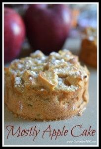 Mostly Apple Cake