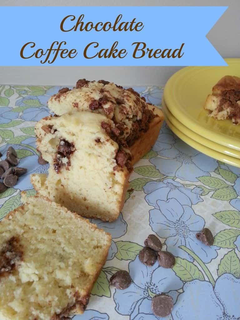 Chocolate Coffee Cake Bread