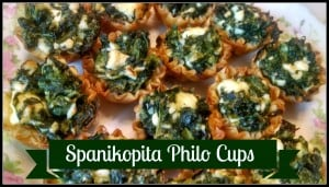 Spanikopita Cups