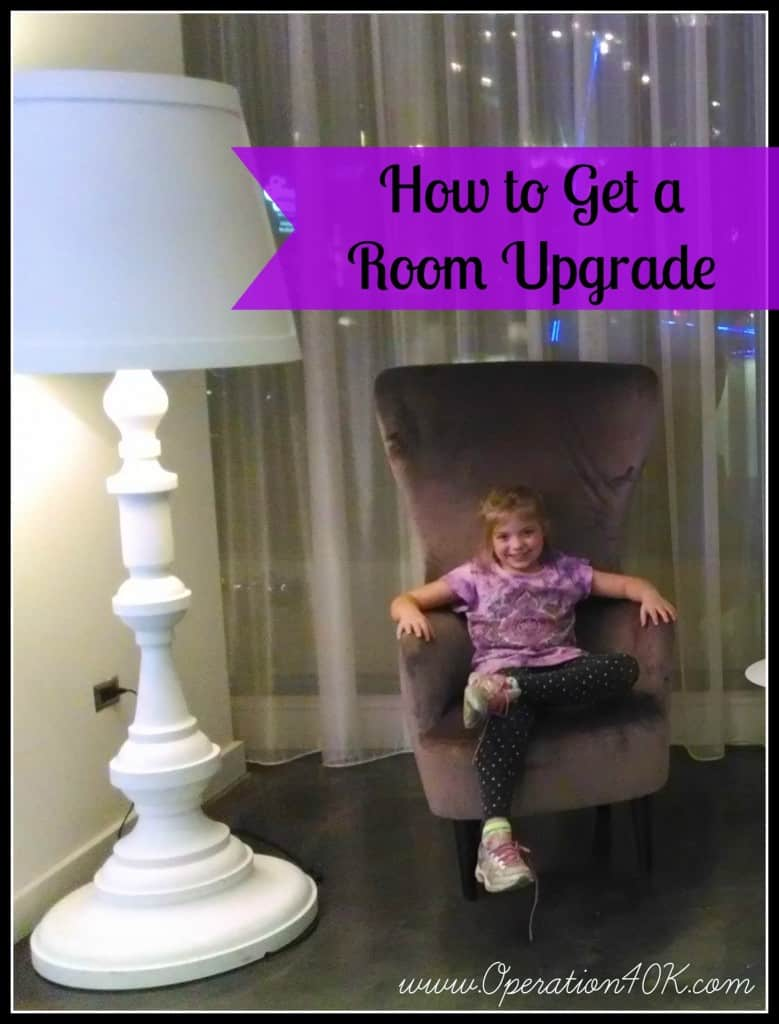 How to Get a Room Upgrade
