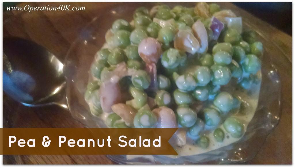 Pea & Peanut Salad