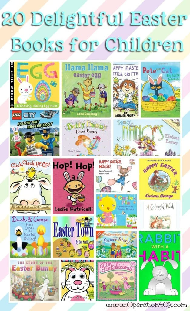 20 Easter Books For Kids
