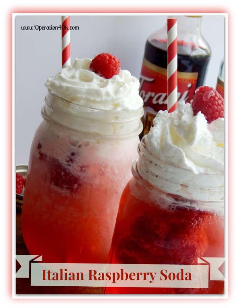 Italian Raspberry Soda