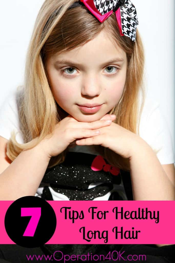 7 Tips For Healthy Long Hair