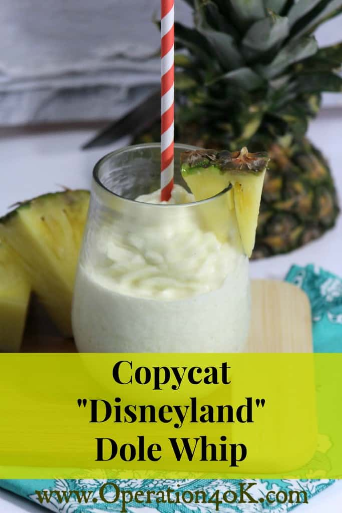"Copycat.... ""Disneyland"" Dole Whip Recipe - Operation $40K"
