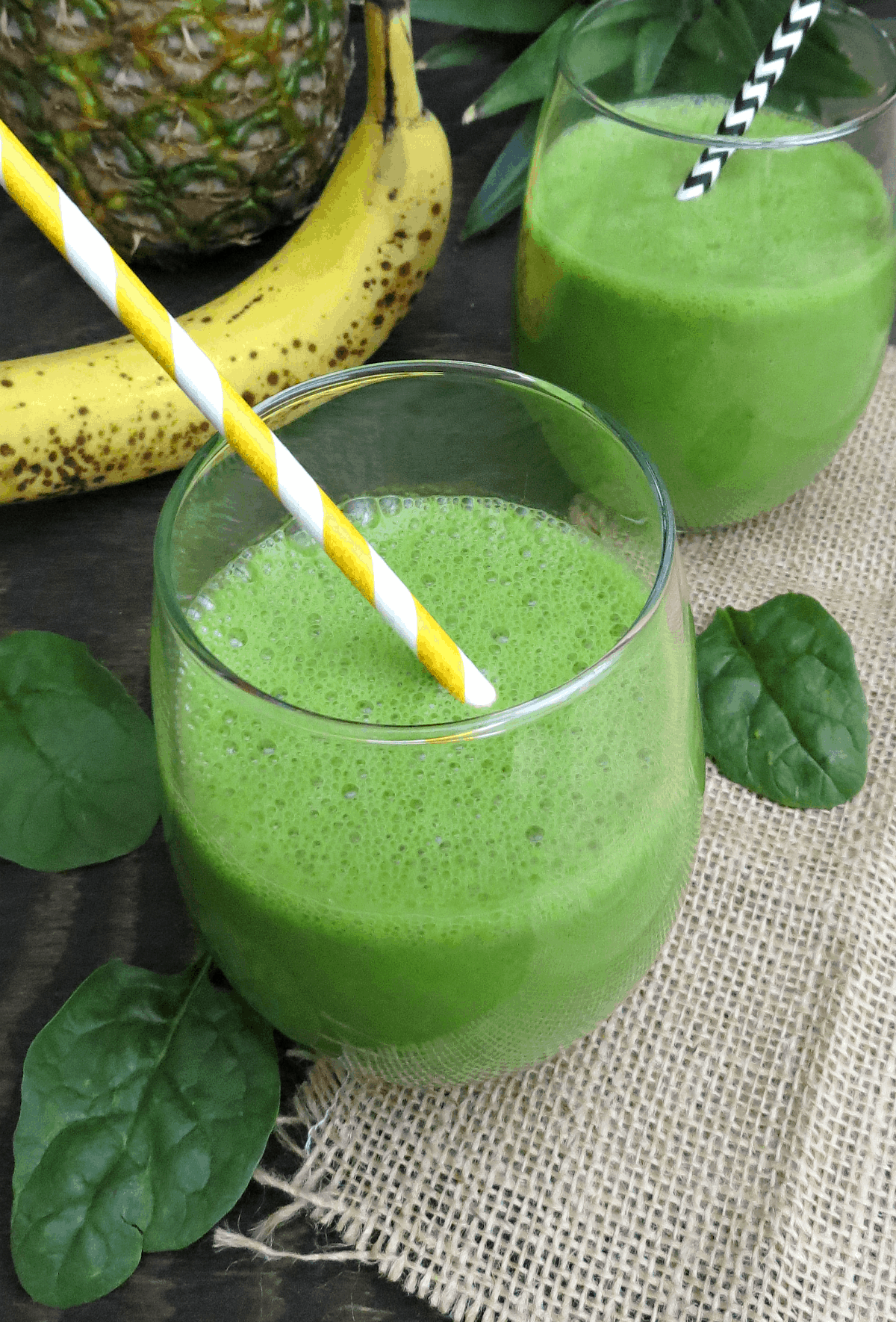 Green Pineapple Smoothie - Final 1