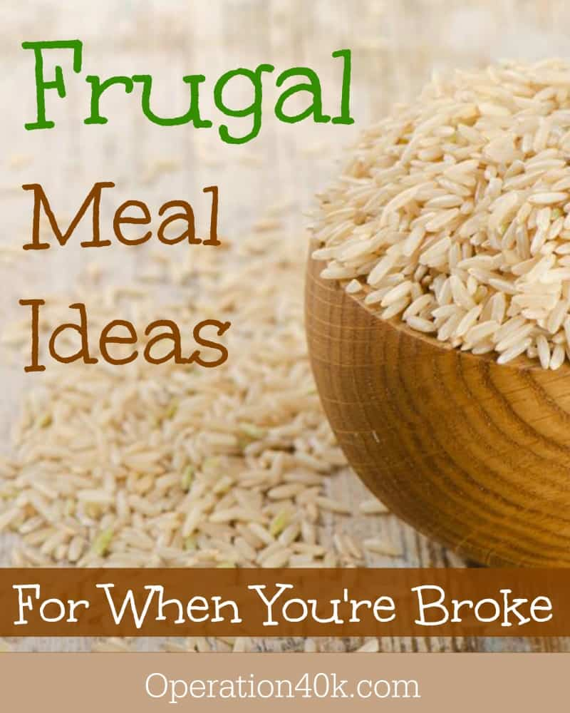 frugal meal ideas image