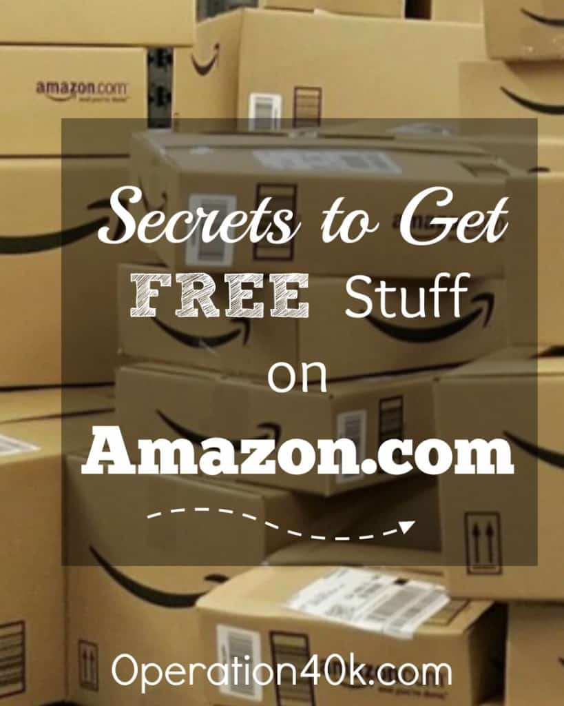 Secrets to Get Free Stuff Amazon Image