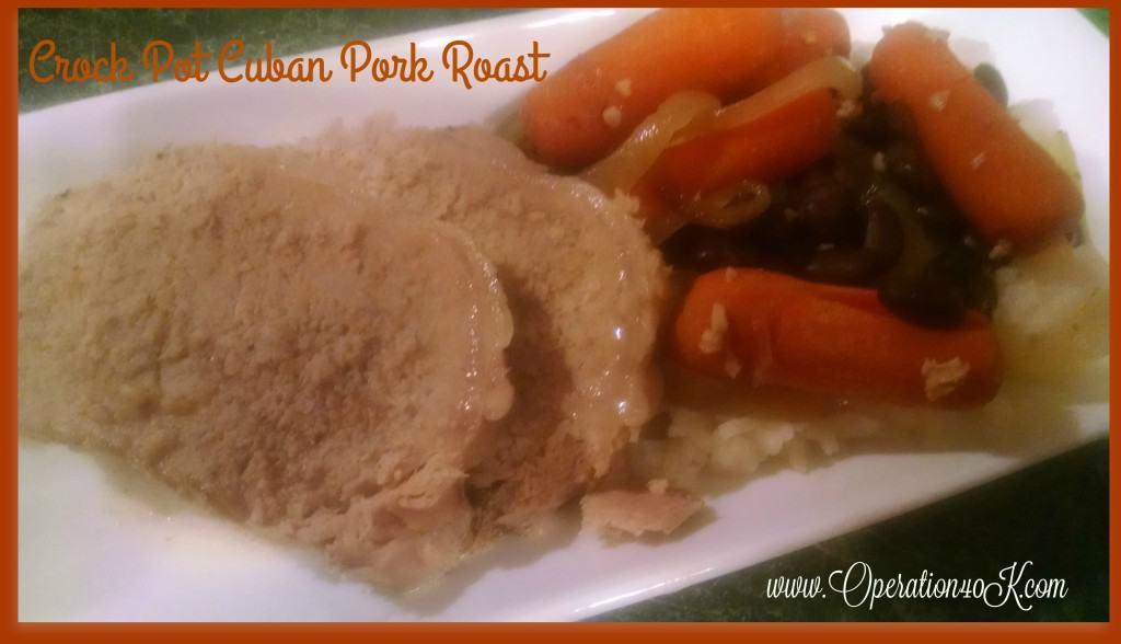 Crock Pot Cuban Pork Roast