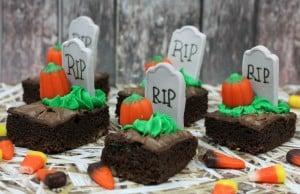 RIP pumpkin brownie 4-4