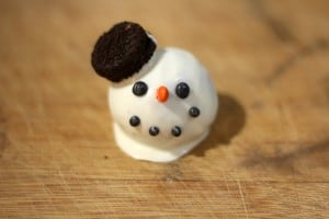 snowman cake balls 0-3