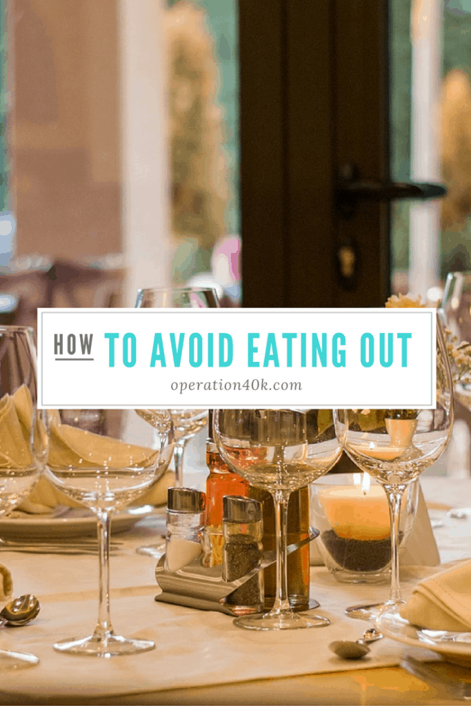 how to avoid eating out so you can be healthier and save money