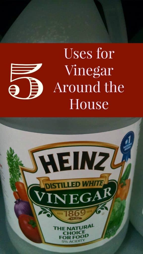 5 uses for vinegar