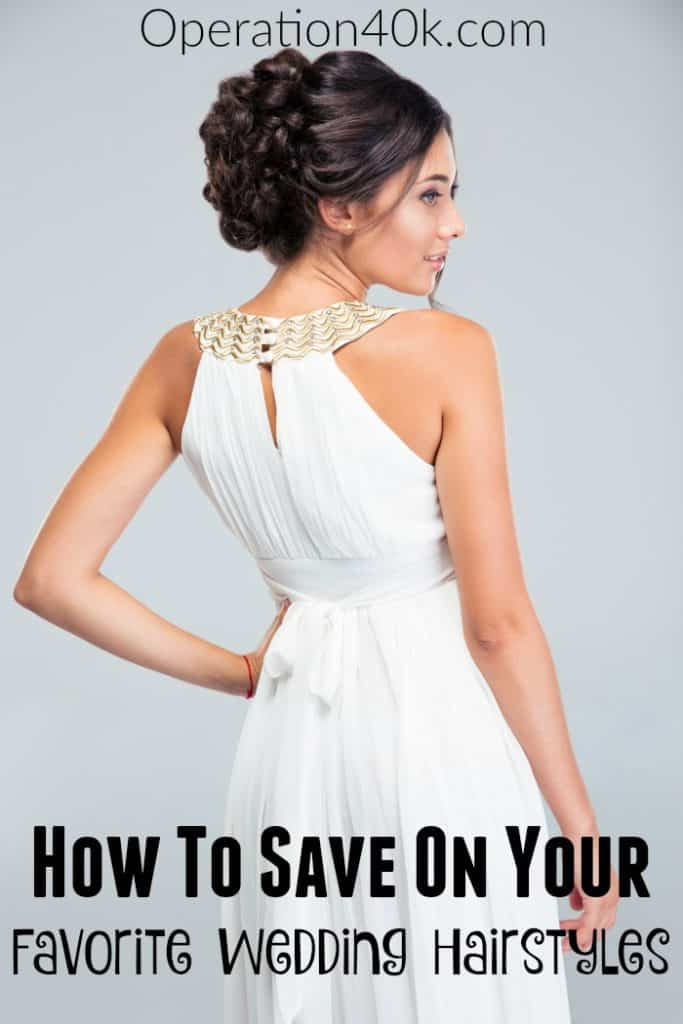 A beautiful wedding hair style is a must for your big day! Check out our tips for how to get the perfect hair style on the cheap!