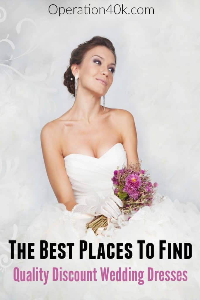 Discount wedding dresses aren't a dream. You can find amazing affordable wedding dresses that are gorgeous, fit well, and fit within your budget!
