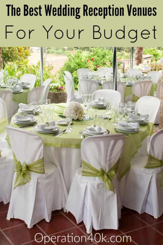 Finding the Best Wedding Reception Venues within your budget is made much easier with our great tips! Don't miss these great ideas!