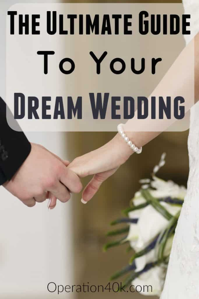Don't miss our ultimate guide to your dream wedding! Chock full of great frugal wedding tips and tricks to save your budget while making your dreams come true!