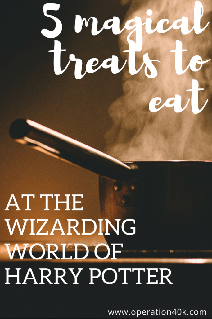 5 magical treats to eat at the wizarding world of Harry Potter