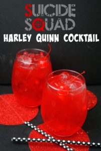 suicide squad harley quinn punch recipe that is really like a fruity rum punch