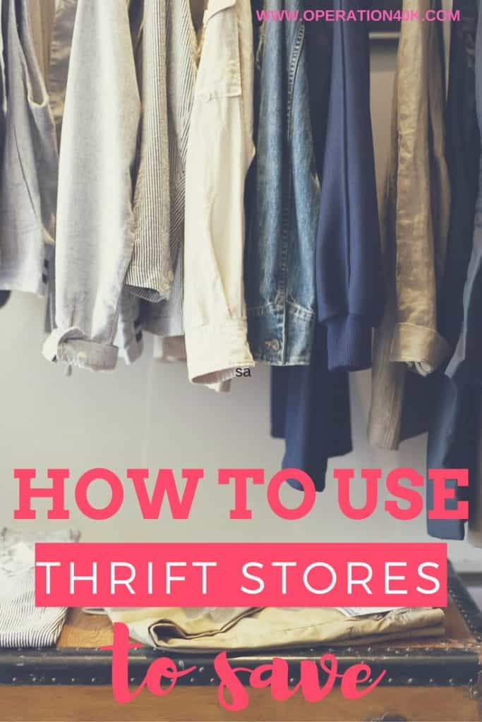How To Use Thrift Stores To Save