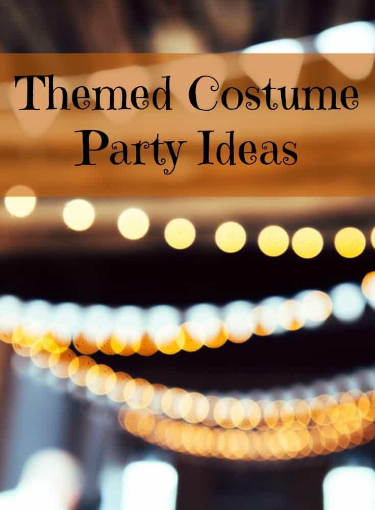 Fun Themed Halloween Costume Party Ideas
