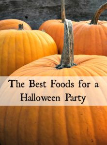 The Bests Foods for a Halloween Party
