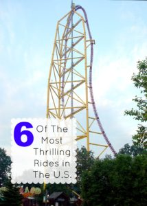6 Of The Most Thrilling Roller Coasters Across the U.S.