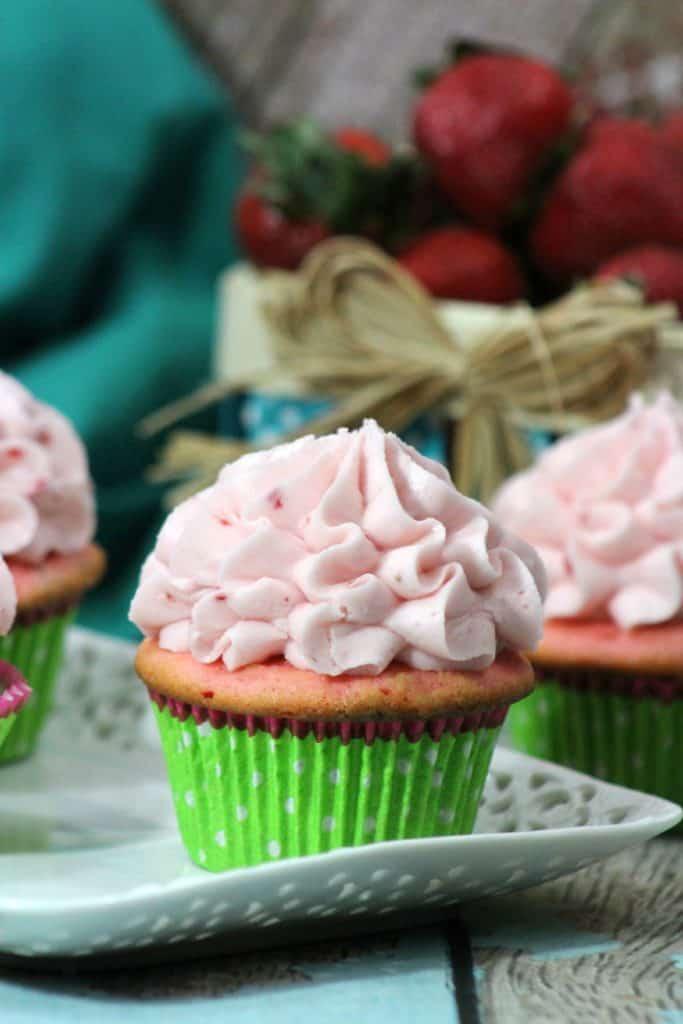 Very Strawberry Cupcake Celebration!