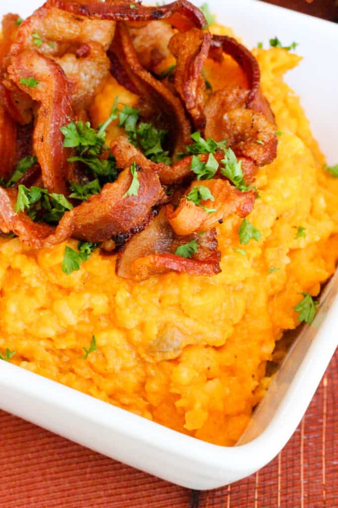 Butternut Squash & Mashed Potatoes with Bacon - from Operation $40K