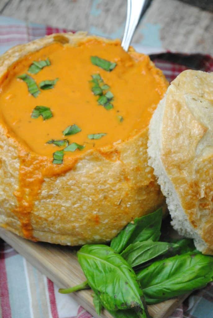 tomato basil soup recipe by www.operation40k.com