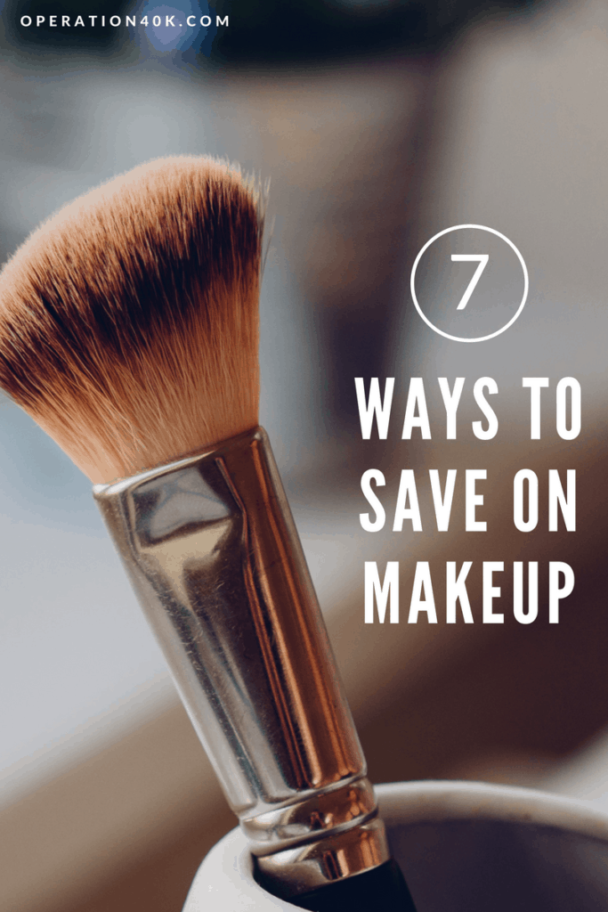 7 ways to save on makeup by Operation40k