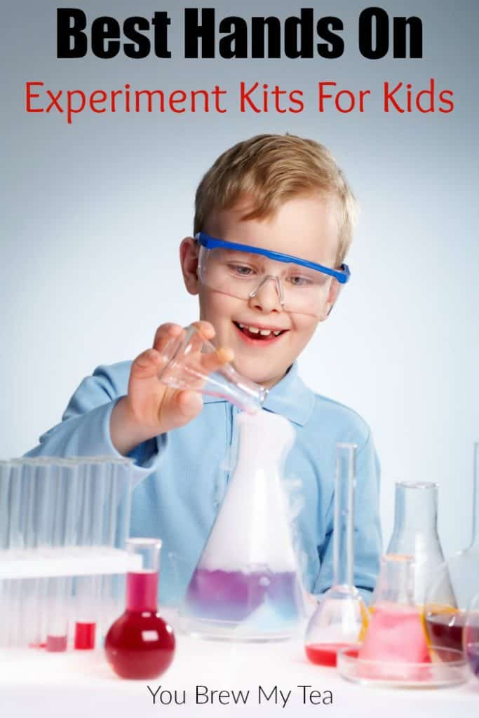 Experiment Kits are ideal for keeping kids happy for hours. These Hands-On Experiment Kits are ideal for cultivating STEM and more in children!