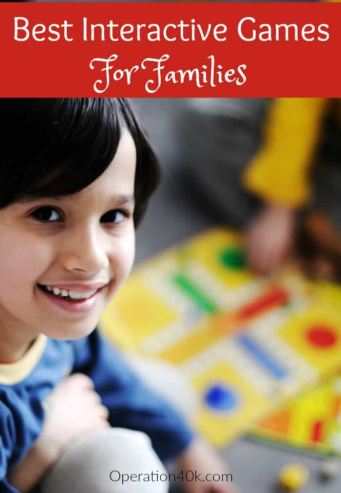 Interactive Games For Families: Don't miss out on our top list of Interactive Games For Families. This list contains classics and fun new games to love!