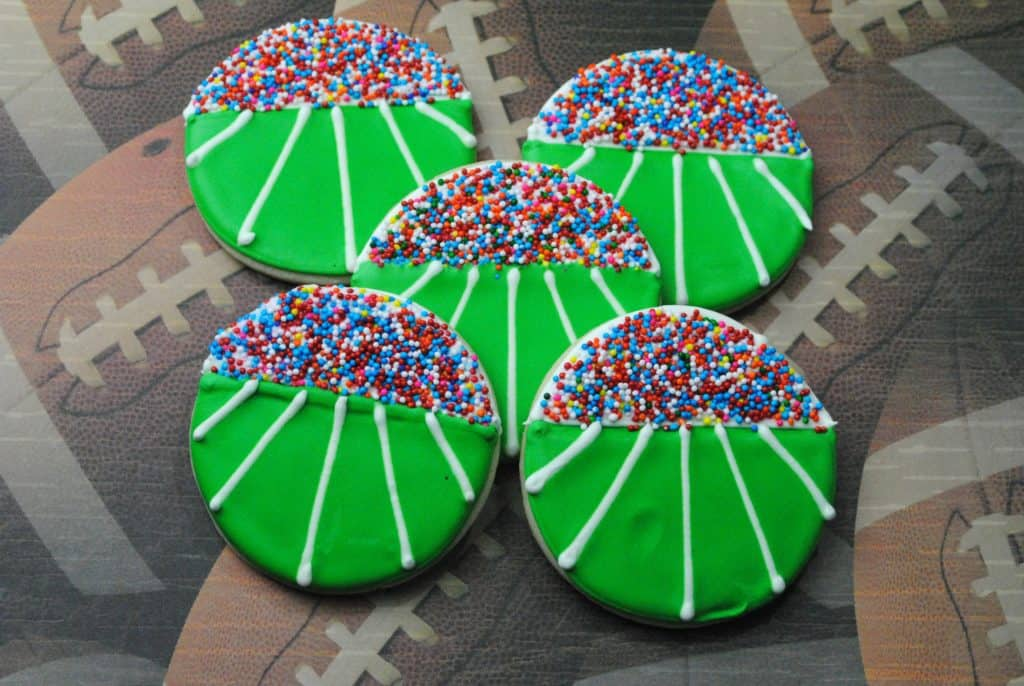 Fun Fall Football Cookies For Your Fan