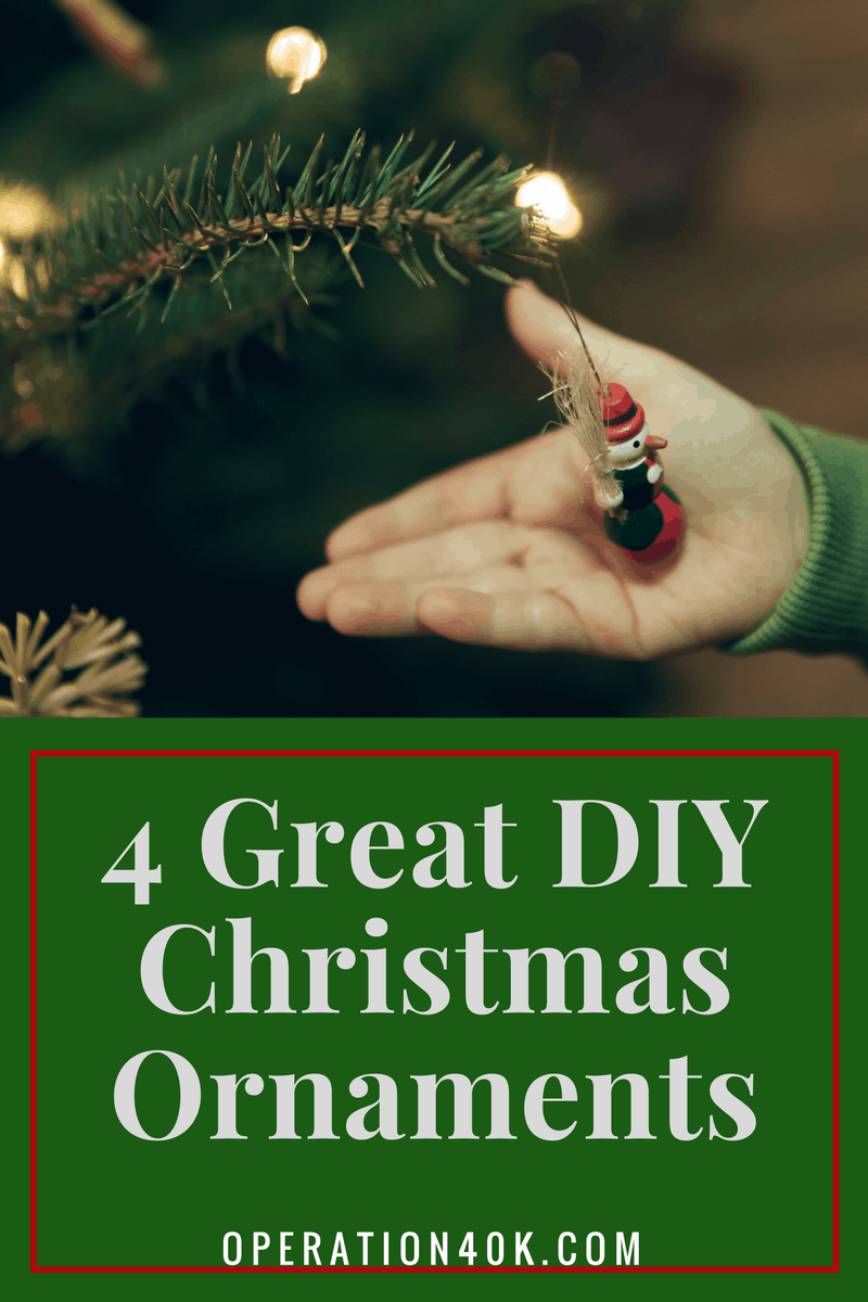 The christmas nail ornament - You Can Have A Lot Of Fun Decorating Your Tree If You Use Christmas Ornaments That You Decorated Yourself Here Are Some Ideas For Great Diy Christmas
