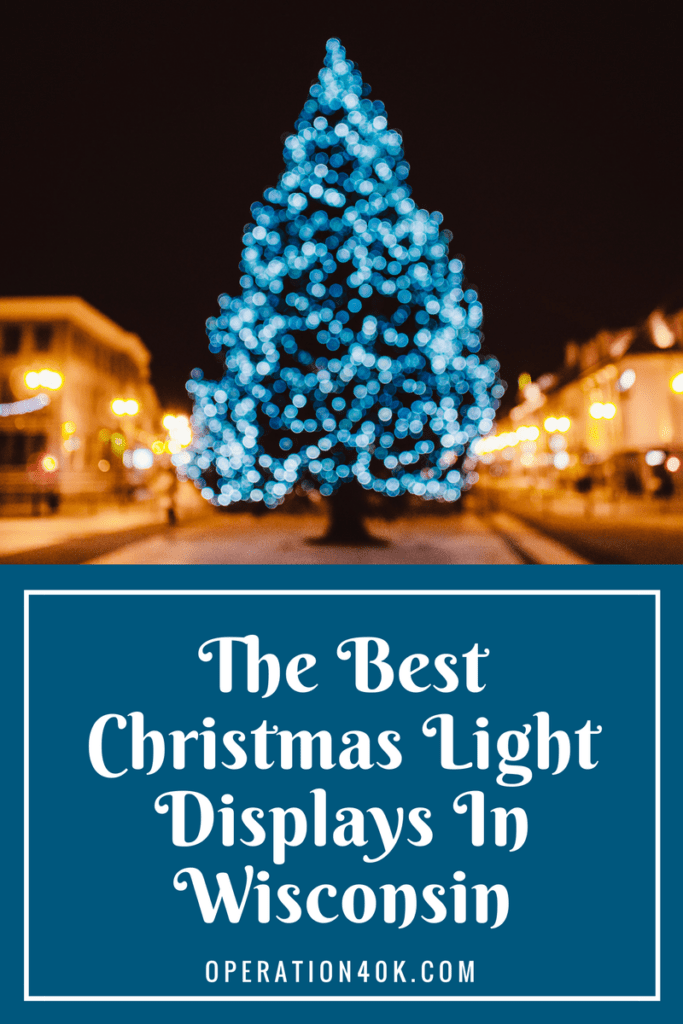 the best Christmas light displays in Wisconsin