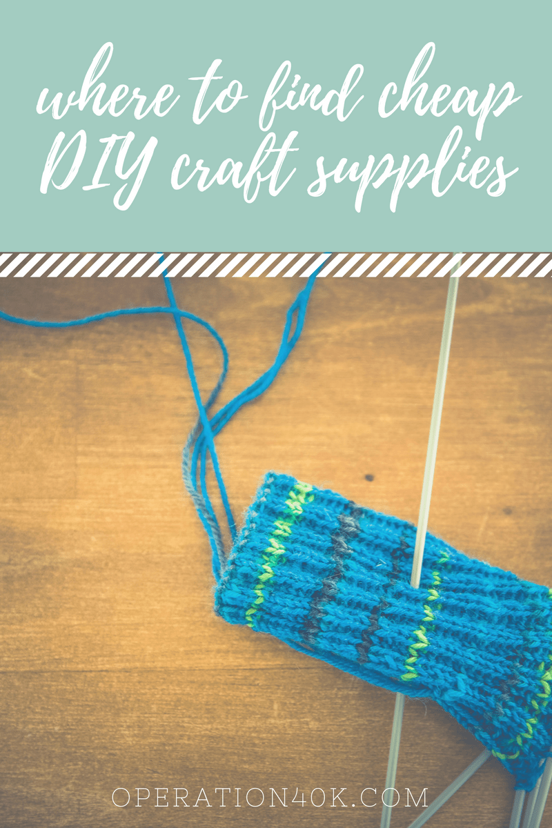 Where to find cheap diy craft supplies operation 40k for Craft supplies online cheap