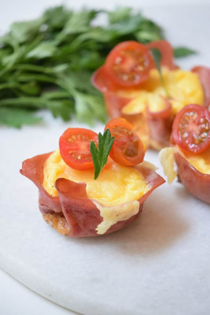 Ham and Cheese Cup Recipe from Operation40k.com