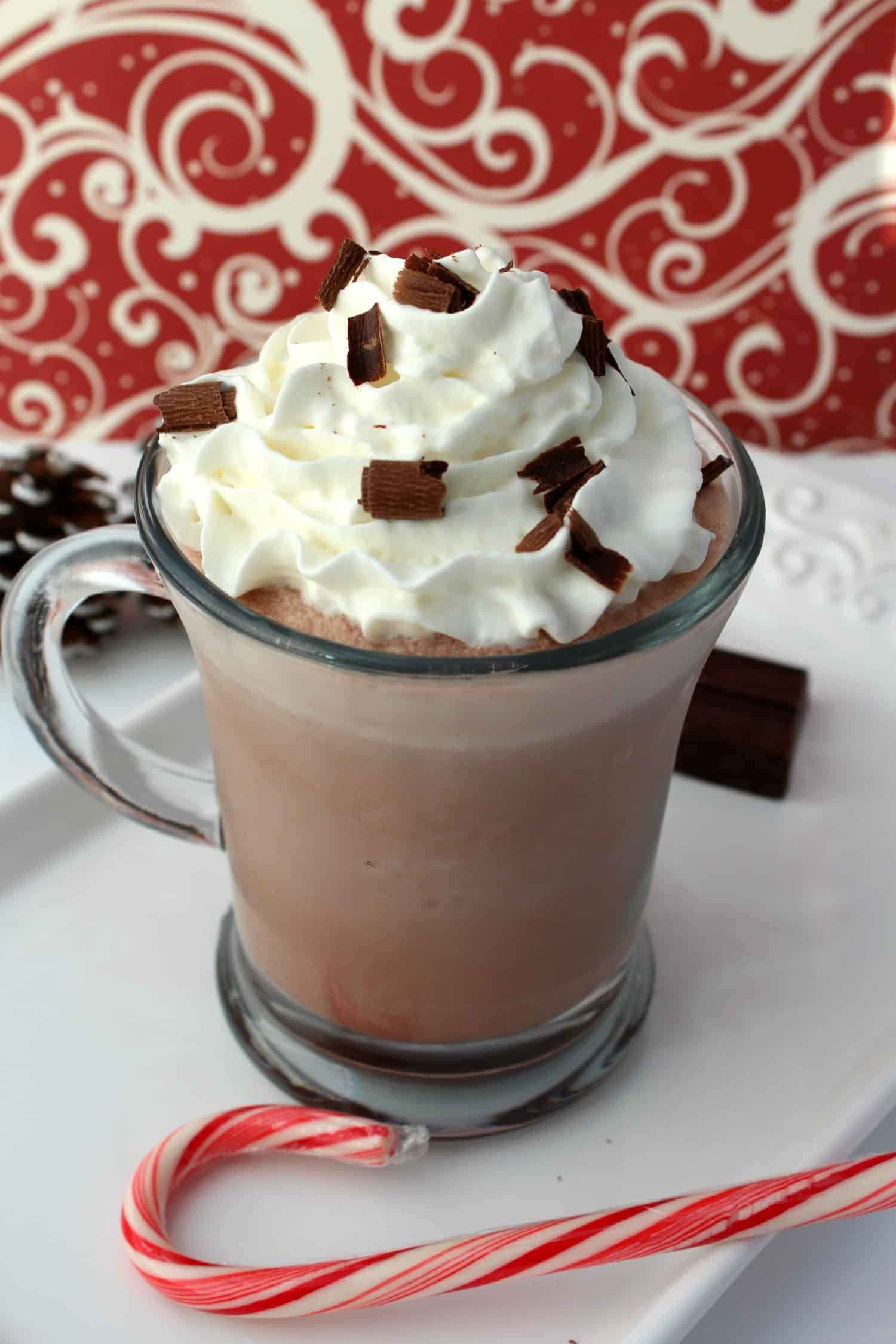 Copycat Serendipity Frozen Hot Chocolate - Operation $40K