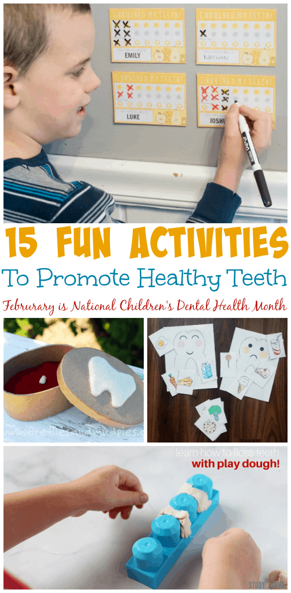 15 Fun And Easy Sewing Projects For Kids: 15 Fun Ways To Promote Healthy Teeth In Kids
