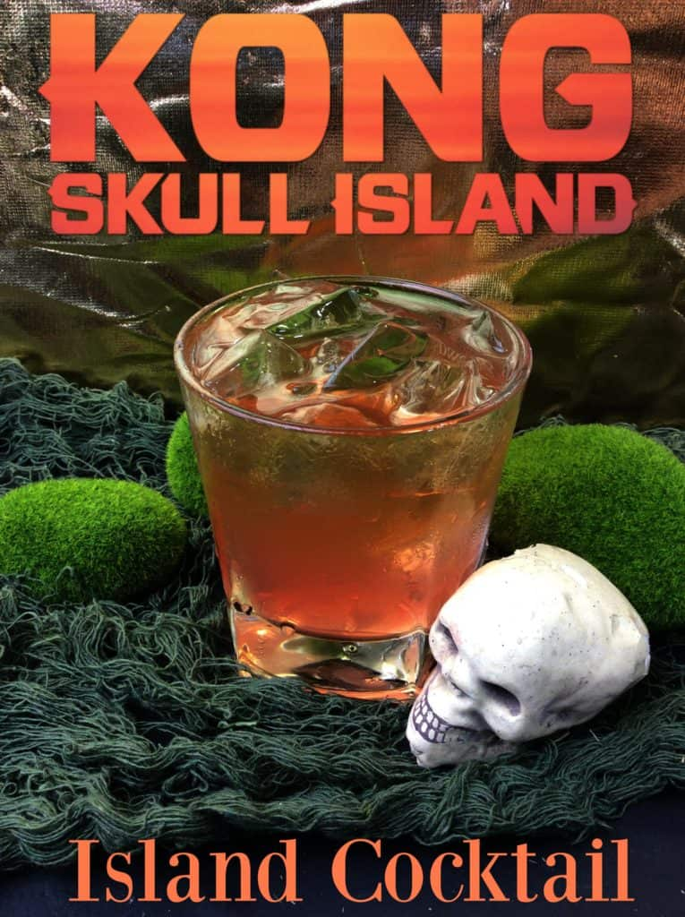 King Kong Skull Island Cocktail recipe from Operation40k.com
