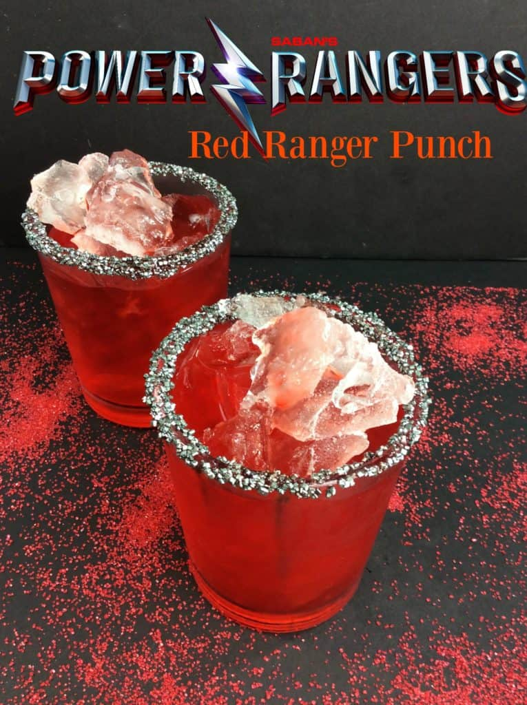 Power Packed Red Ranger Punch