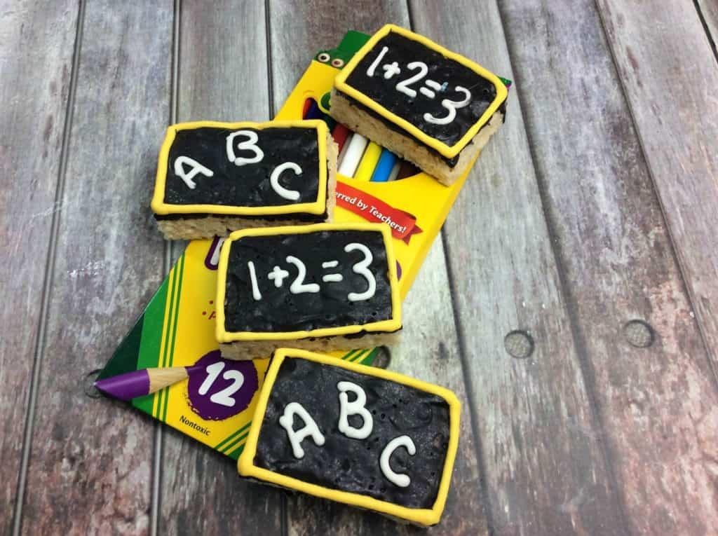 ABC Rice Krispy School Treats