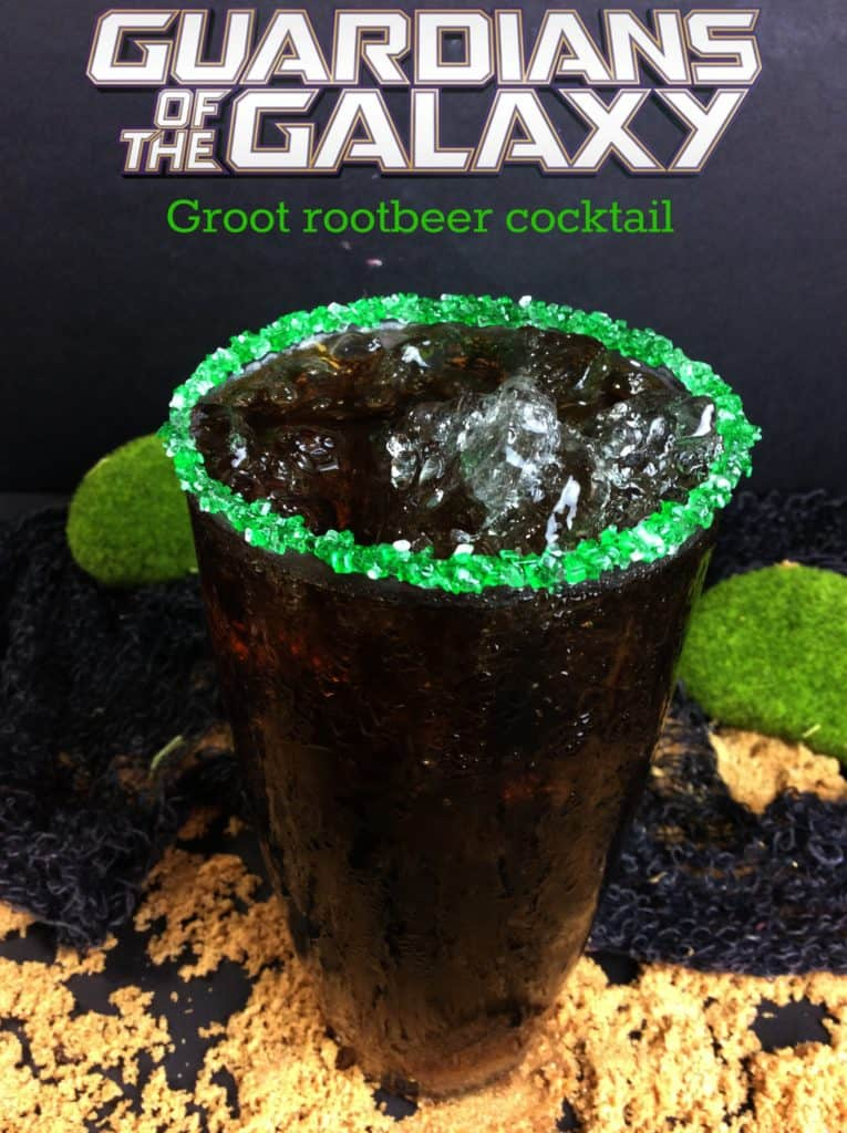 Baby Groot Rootbeer Cocktail Recipe