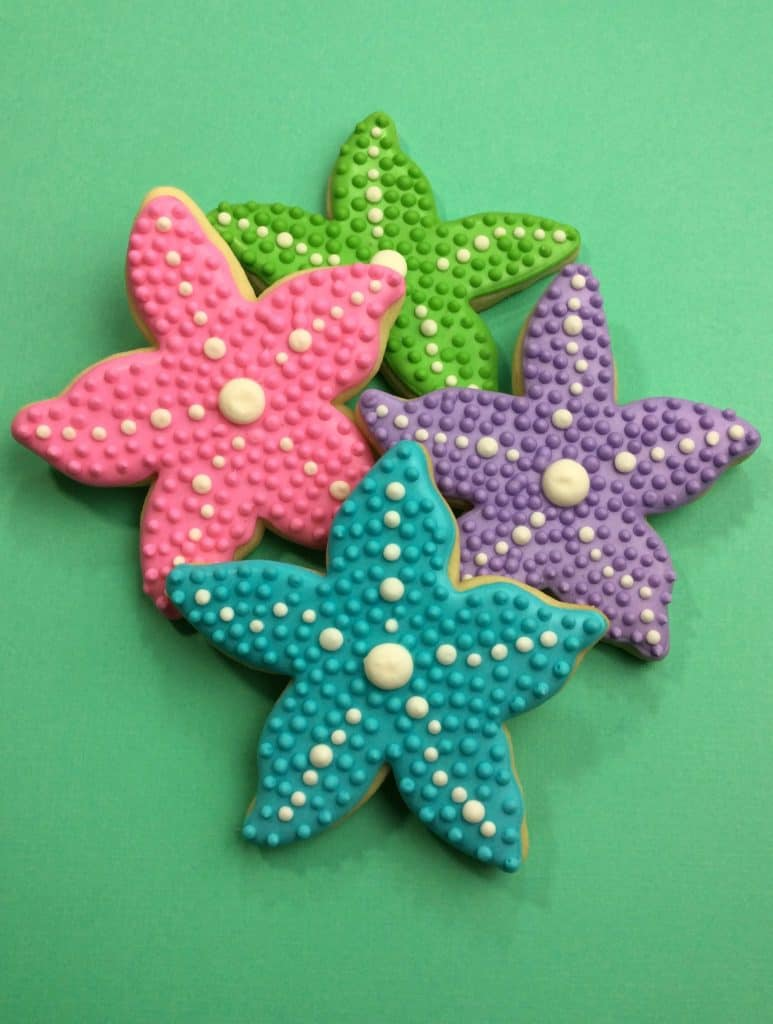 Celebrate the Beach with our Starfish Cookies