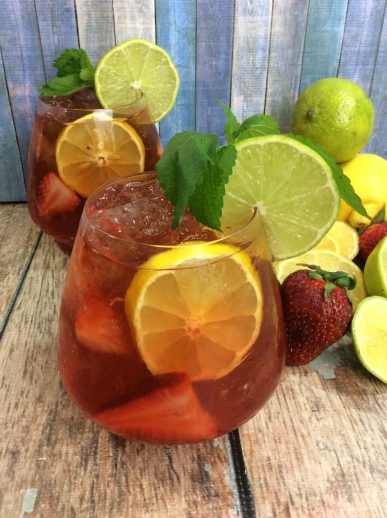 Try Our Strawberry Long Island Iced Tea Recipe