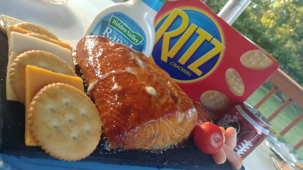 Dr Pepper Glazed Salmon on A Cedar Plank #GrillGatingHero #GrillGating