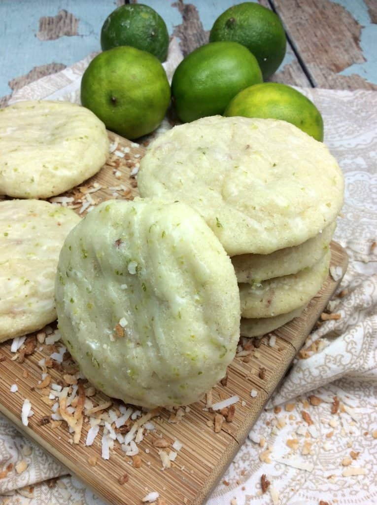 Refreshing Coconut Lime Cookies